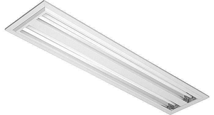 Lumin ria fluorescente tubular t5 - Luminaria fluorescente estanca ...